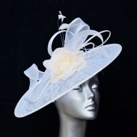 White Mother of the bride hatinator 14781 SD88
